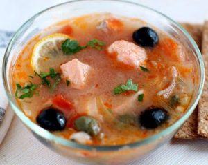Рыбная солянка: рецепт приготовления