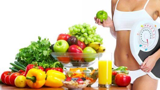 Примерное меню питания для похудения на неделю