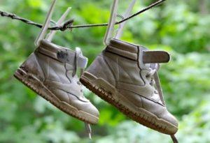 Как высушить промокшую обувь