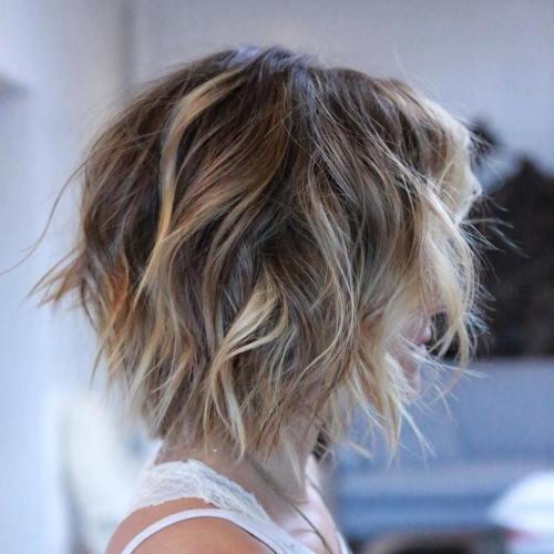 модные женские короткие стрижки на тонкие волосы - каре и боб-каре