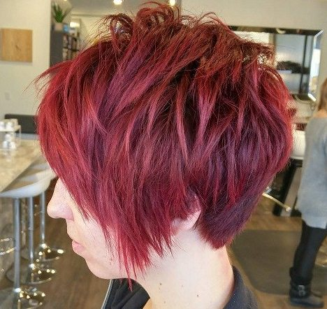 модные женские короткие стрижки на тонкие волосы - боб