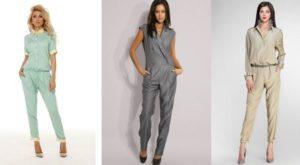 Как носить модные этим летом комбинезоны