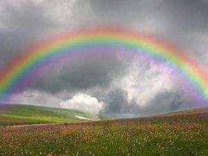 К чему снится радуга цветная на небе