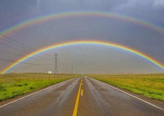 к чему видеть двойную радугу во сне