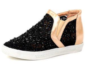 модные женские ботинки на платформе