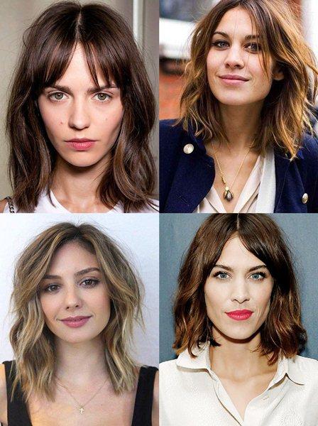 Модные женские прически 2017 на средние волосы