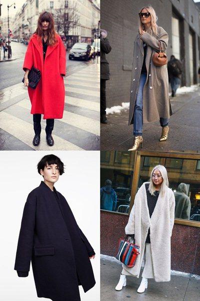 пальто оверсайз 2017
