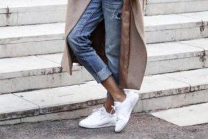 С чем носить пальто оверсайз – подбираем обувь (ФОТО)