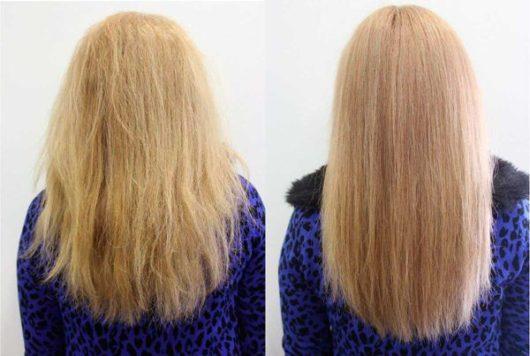 ламнирование волос