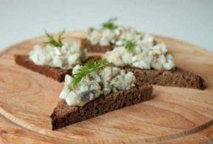 Форшмак из селедки: классический рецепт