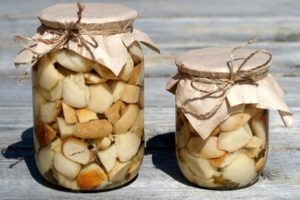 Грибы белые маринованные на зиму - рецепт