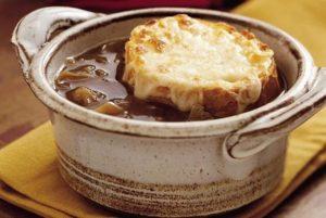 Луковый суп - рецепт классический французский