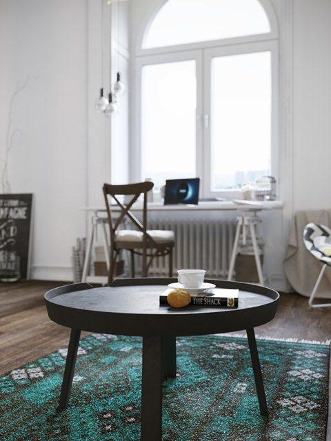 Гостиная в скандинавском стиле (ФОТО интерьера)