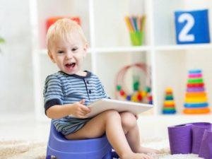 Как приучить ребёнка к горшку в 1.5 года