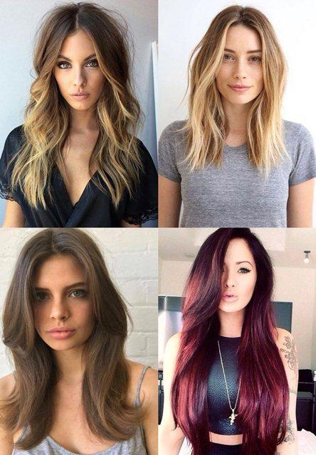 женские стрижки длинные волосы 2018