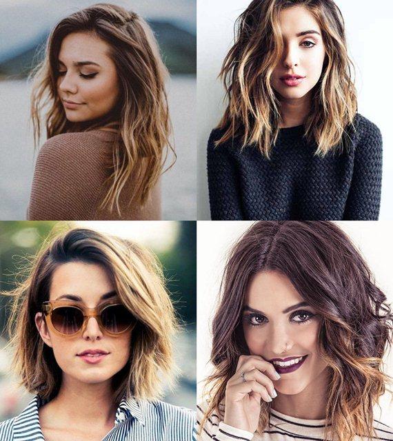 женские стрижки на средние волосы 2018