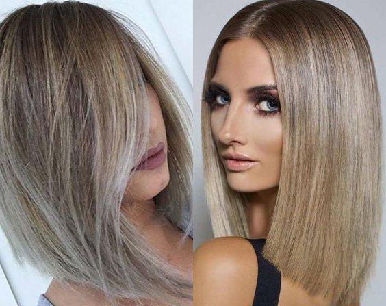 Женские стрижки средние волосы 2018