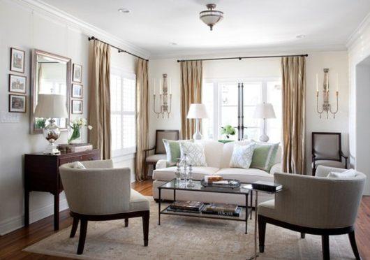 гостиная классический интерьер