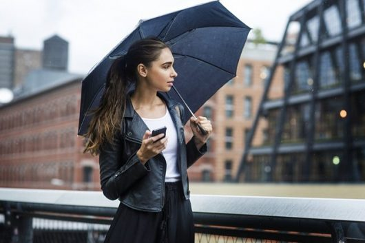 женский зонт casual