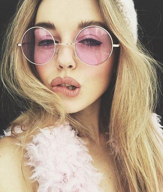 очки с цветными стеклами