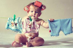 Безопасная стирка детских вещей: как и чем стирать вещи ребенка