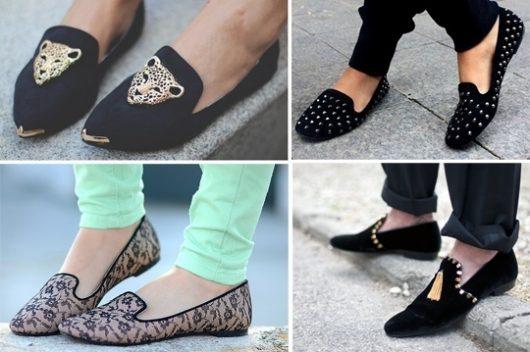 с чем носить женские слипперы