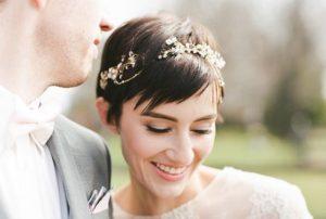Свадебные прически на короткие волосы (ФОТО)