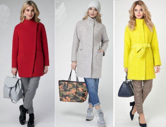 короткое женское пальто 2018