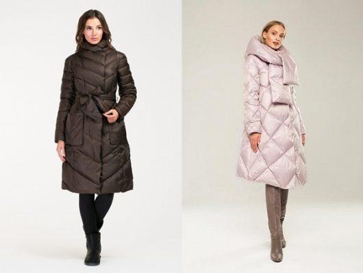 пуховики пальто