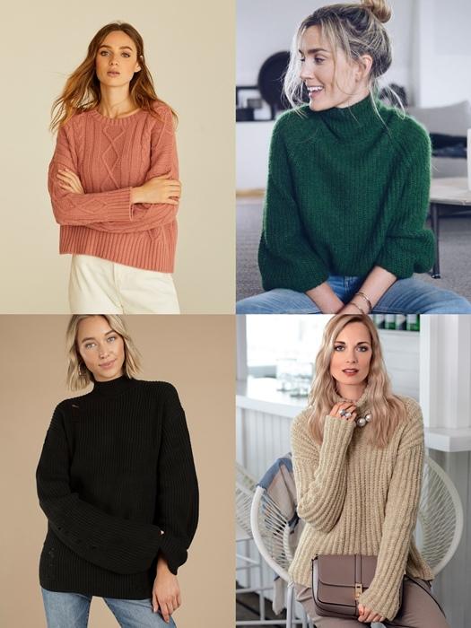 модные цвета свитера 2018 2019