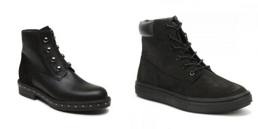 модные ботинки зима