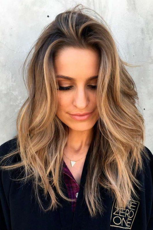 модные длинные волосы 2019