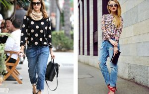 Модные бойфренды: какие выбрать и с чем носить?