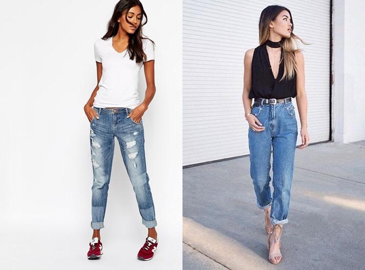 джинсы-бойфренды 2019