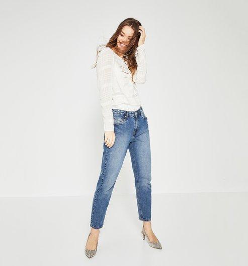 джинсы мом